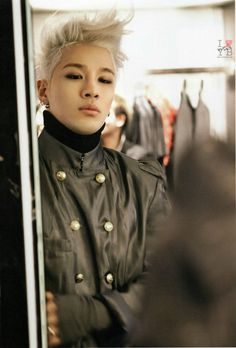 Taeyang in Paris 2014 (Side note: I love how his hair is so floofy looking in this picture)