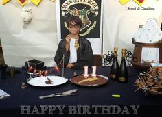 I Sogni di Claudette: Harry Potter Party