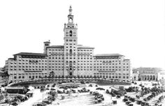 """Biltmore Hotel - """"The Miami Biltmore Hotel opened in January 1926 at the peak of the Florida land boom. The hotel was built by Coral Gables developer George E. Merrick and hotel magnate John McEntee Bowman."""" (Coral Gables, Florida)"""