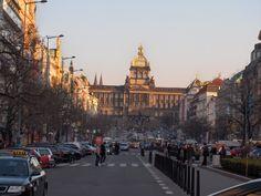 """Piazza di San Venceslao...""""Praga"""""""