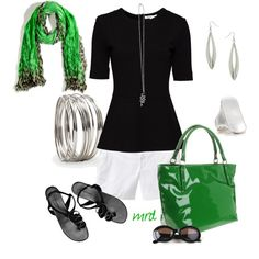 Kate Spade - Green, created by michelled2711 on Polyvore