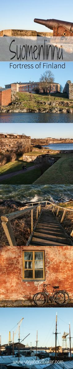 Suomenlinna, Sea Fortress of Finland >> It's so darn beautiful, photogenic and historic! Helsinki