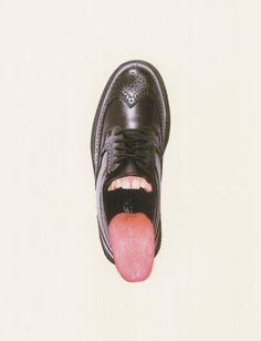 shoe tongue