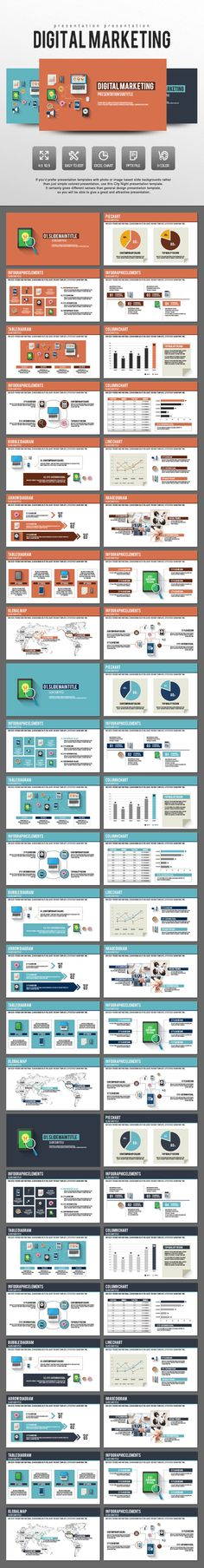 Marketing Plan Powerpoint Template By Slidepro On Creative Market