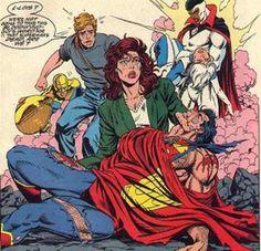death of superman | Death of Superman - Superman yace muerto en brazos de Lois Lane tras ...