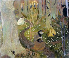 Maurice Denis. Avril Les Anemones,1891