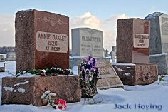 Graves, Tombs And Cemeteries Famous Tombstones, Wild West Show, Annie Oakley, Good Ol, Old West, Cemetery, Butler, Ohio, How To Memorize Things