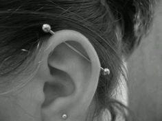 industrial piercing - This is what I did today! (That's not a picture of me though.)