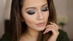 Date Night Get Ready With Me  Khaki Gradient Eyes