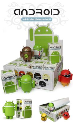 Android Vinyl Toys