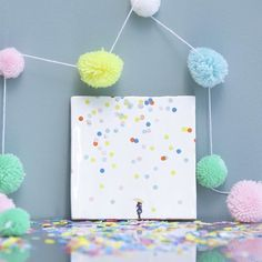 You are never too old to play in the rain especially one that's made of confetti! - #Undertheumbrella #newcollection #storytiles  #tileaddiction #stories #apaperworld #confettipaper #illustrations #ihavethisthingwithtiles #ceramicdesign #dutchdesign #tileart #artontiles #homedecor #roominspo #wallart #wallinspo #walldecor #artonwalls #tilelove #tilecrush #tilegram #instatiles #instahome #colorfulart #tiledesign #storytileyourhome #idcdesigners  #instadeco #instart by storytiles