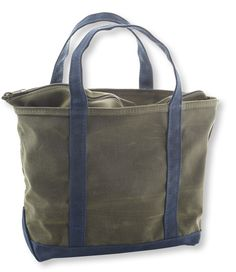 Waxed Canvas Boat and Tote