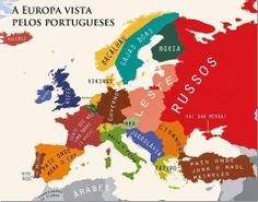 correndo o risco de parecer xenófoba, aqui está a forma como os portugueses vêm a Europa.