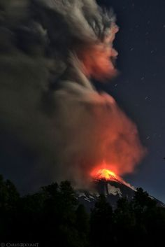 The Spirit of the volcano Photo by Carlo Rocuant -- National Geographic Your Shot