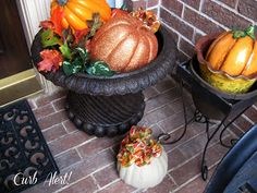 Curb Alert!: Fall Front Porch 2012