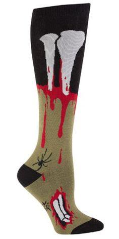 Sock It To Me Socking Dead Zombie Leg Women's Knee High Socks Sock It To Me,http://www.amazon.com/dp/B00ECGA29M/ref=cm_sw_r_pi_dp_Dd2rsb1N8ER2Q0D7