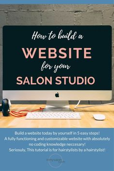 How to start a Website for your Salon Studio in 5 easy steps! Damaged Hair Remedies, Dry Brittle Hair, Help Hair Grow, Salon Business, Business Education, Healthy Hair Tips, How To Curl Your Hair, Building A Website, The Help
