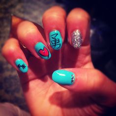 Do you remember these nails? ♥♥