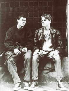 Leonardo DiCaprio and Mark Walberg. Marky mark. The basketball diaries