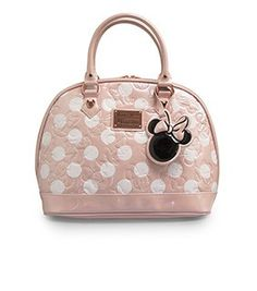 447db7805f48 Minnie Mouse Pink Polka Dot Embossed Bag Fashionista Kids