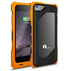 awesome (New Release HALF PRICE!!!)iPhone 6 Battery Case, 1byone® iPhone 6 Backup Battery Charger Case (4.7 Inches) [Transformers Style/Yellow] - 3500mAh Rechargeable Protective Charging Case / iPhone 6 Charger Case / iPhone 6 Extended Backup Battery Pack Cover Case Fits ANY VERSION of Apple iPhone 6 (a.k.a iPhone 6 Battery Pack / iPhone 6 Power Case / iPhone 6 USB Juice Bank / iPhone 6 Battery Charger) Check more at…