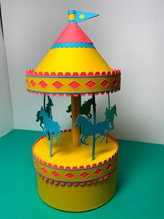 Papercrafts and other fun things: A STEM Project: A Carousel That Really Spins With An Axle Divine Proportion, Pythagorean Theorem, Stem For Kids, Stem Challenges, Stem Science, Stem Projects, Science Activities, Carousel, Fun Things