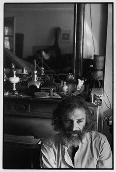 Henri Cartier-Bresson // Paris, 1970 - Georges MOUSTAKI, French singer.