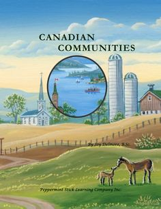 Canadian Communities (geography for grades 3-4) - see sample pages of this recently published curriculum in the free downloadable catalogue. Available as a printable or as a reproducible printed version.