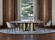 Catalogue | Sarsfield Brooke - Importers and wholesalers of fine furniture Marble Top Dining Table, Oval Table, Modern Dining Table, Fine Furniture, Dining Room Furniture, Dining Room Table, Dining Chairs, Luxury Dining Room, Beautiful Dining Rooms