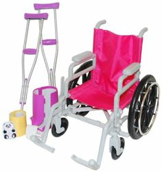 My Wheelchair And Crutch Set Toys