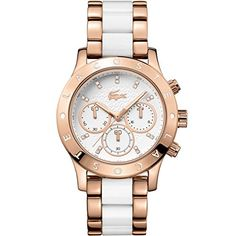 Lacoste Womens 2000911CHARLOTTE WhiteGold Watch *** Continue reading at the image link.
