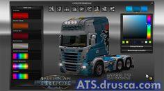 Scania Heinhuis RJL American Truck Simulator, Desktop Screenshot, Catalog, Brochures