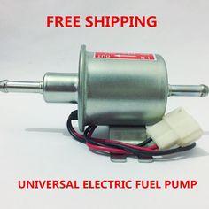 Universal diesel petrol gasoline 12v electric fuel pump HEP-02A low pressure For most car Carburetor Motorcycle ATV #jewelry, #women, #men, #hats, #watches, #belts