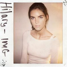 Victoria's Secret Angels without Make-up - Hilary Rhoda.