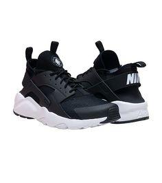 851021ba71cb3 NIKE SPORTSWEAR MENS HUARACHE RUN ULTRA SNEAKER Black Nike Huarache Women