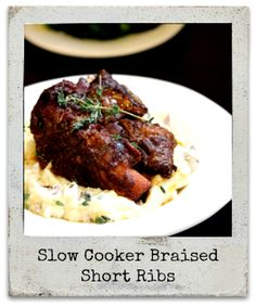 Big Bear's Wife {Recipes that are Angie Tested and BigBear Approved!}: Slow Cooker Braised Short Ribs #SundaySupper