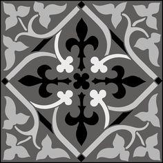 Gótico y medieval Azulejos No 3 plantillas, stensils y stencles