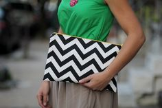i so need to chevron-up a clutch!!