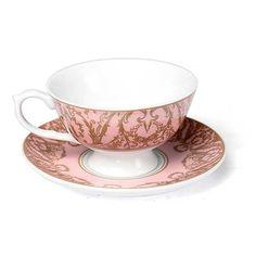 Tea Cup and Saucer - Sense and Sensibility Collection - Pink