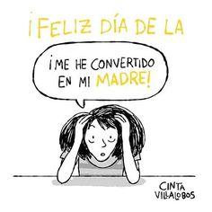 Feliz Día de la Madre  Por  @mundoperfectocomic  #pelaeldiente  #feliz #comic #caricatura #viñeta #graphicdesign #funny #art #ilustracion #dibujo #humor #sonrisa #creatividad #drawing #diseño #doodle #cartoon #felizdíadelamadre #mamá #madre #mom #mami