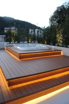 The 25 best hot tub ideas at theydesign jacuzzi outdoor inside outdoor jacuzzi .The 25 best ideas for hot tubs at theydesign jacuzzi outdoor inside outdoor jacuzzi How to choose the outdoor hot tubHealthmate whirlpools Hot Tub Garden, Hot Tub Backyard, Modern Backyard, Backyard Patio, Backyard Landscaping, Backyard Shade, Wood Patio, Outdoor Spa, Jacuzzi Outdoor