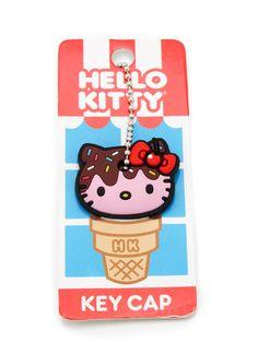 hello kitty ice cream keycap