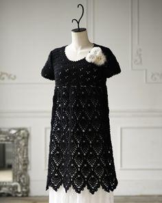 crochet dress....