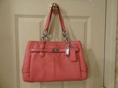 NWT Coach 18955 Chelsea Jayden Leather Carryall ~Rose~. w/dust bag freeship