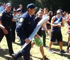 Policía de California decomisa cigarrillo de marihuana gigante en campus universitario - Cachicha.com