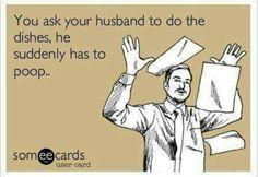 Ecards asking husband to do chores