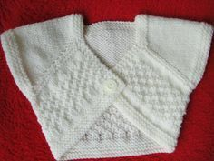 Knitted heart covers for babies from 1 to 3 months – Knitting, crochet, comforters by Memie Cathy – Roupas de Bebê Knitting For Kids, Baby Knitting, Crochet Baby, Knit Crochet, Knitting Paterns, Baby Cardigan Knitting Pattern, Tricot Baby, Cardigan Bebe, Pull Bebe