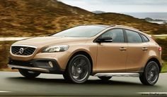 Swedish luxury carmakers Volvo presents their new compact crossover vehicle Volvo V40 (Cross Country) in India at a price of 28.5 lakh (Delhi showroom).
