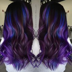 Proof That All Brunettes Can Rock Amethyst Hair