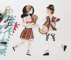 Your place to buy and sell all things handmade Ukrainian Art, Watercolor Illustration, Traditional Art, Paper Dolls, Make Your Own, Folk Art, Art Drawings, Original Paintings, Crochet Patterns
